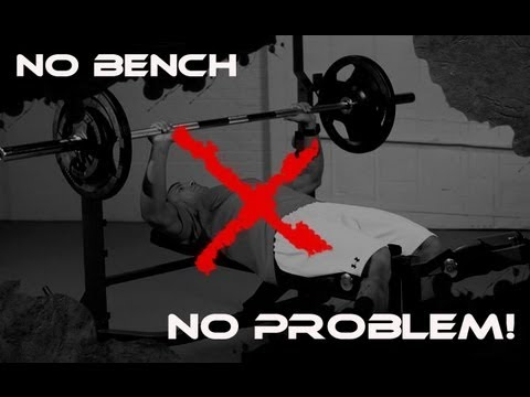 bench press without bench