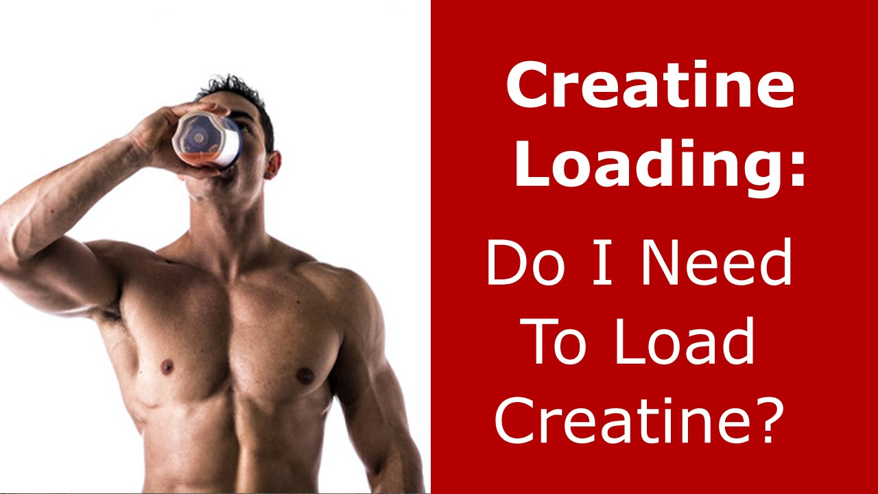 how to load creatine