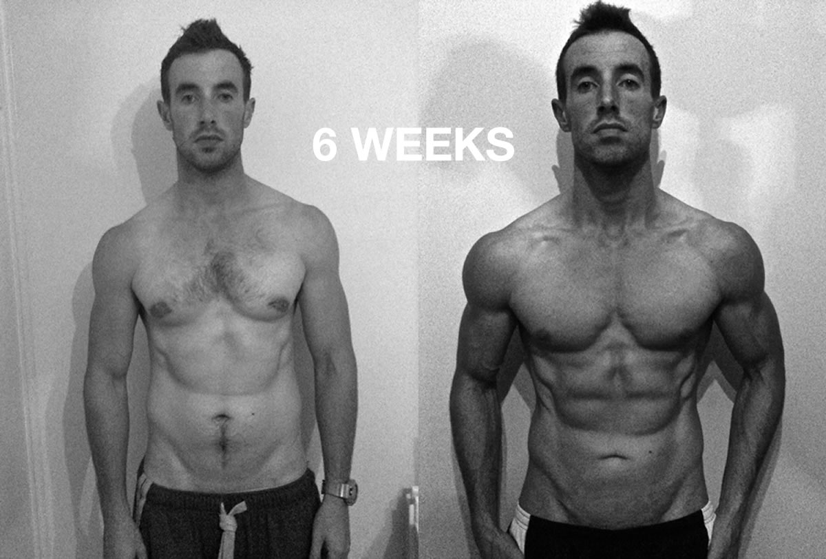 6 weeks muscle building program