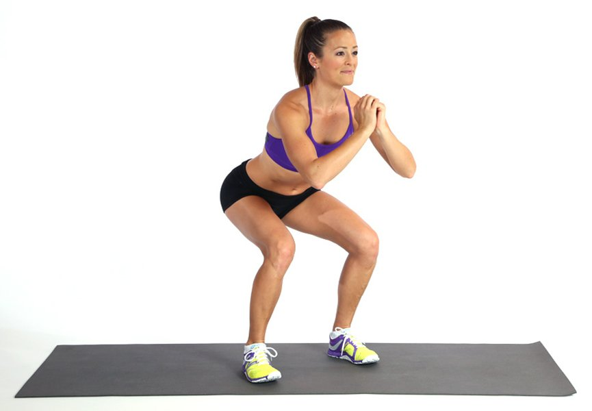how to perform squats