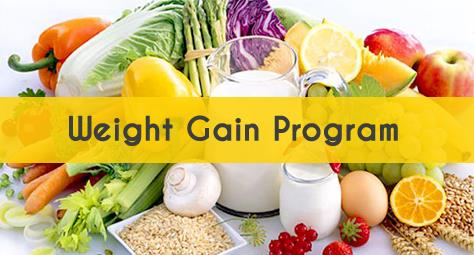 weight gaining program